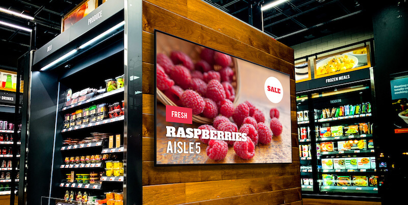 Digital In-Store Signage & Wayfinding